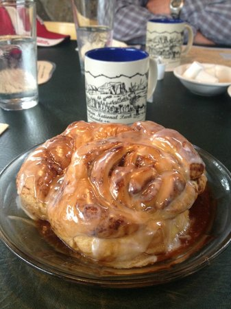 The Other Side: Huge Cinnamon Roll