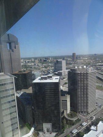 Sheraton Dallas Hotel: view from suite
