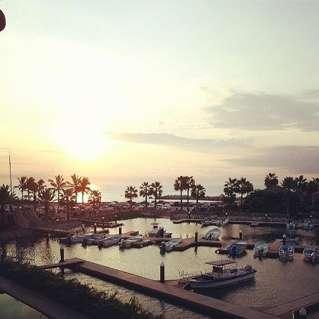 Hotel El Ganzo: Sunrise on the marina