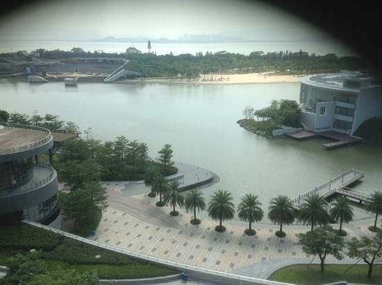 The OCT Harbour, Shenzhen - Marriott Executive Apartments : view to the water