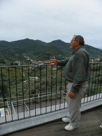 Agriturismo Costa di Faraggiana : View from the veranda