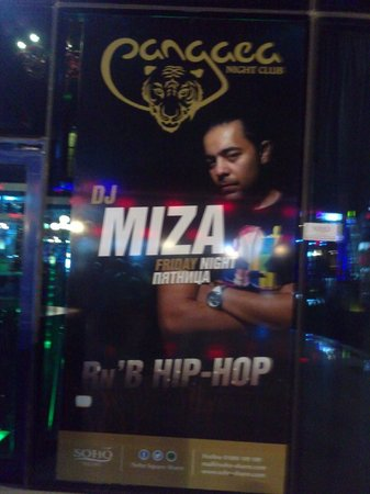 Pangaea Night Club: DJ Miza