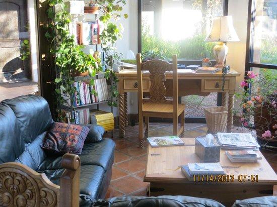 Casa de San Pedro: Sitting Room