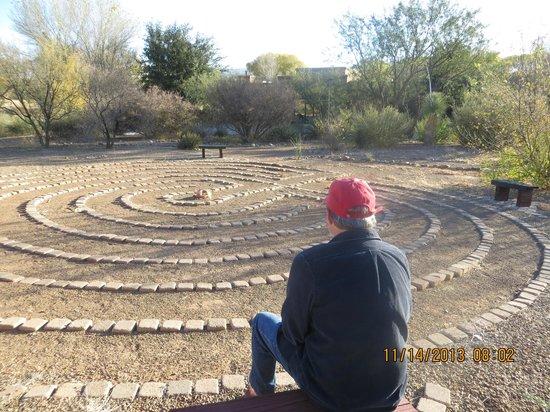 Casa de San Pedro : Labyrinth