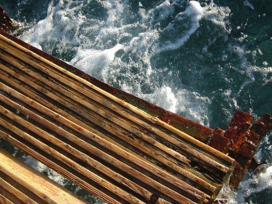Sea Sun Hotel Dahab: Разрушенный пирс