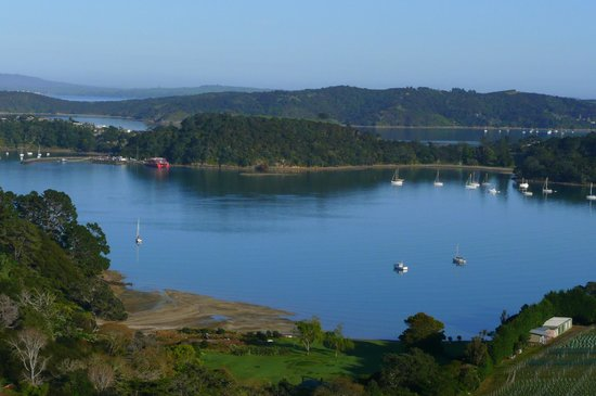 Te Whau Lodge: View from Lodge deck