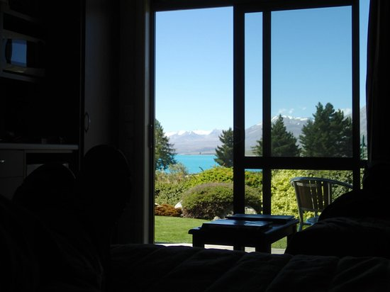 Lake Tekapo Village Motel: View from the room