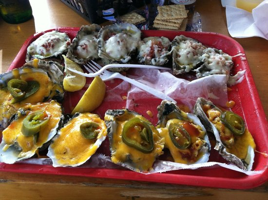 Boathouse Oyster Bar: My lunch-Very Very Good!!