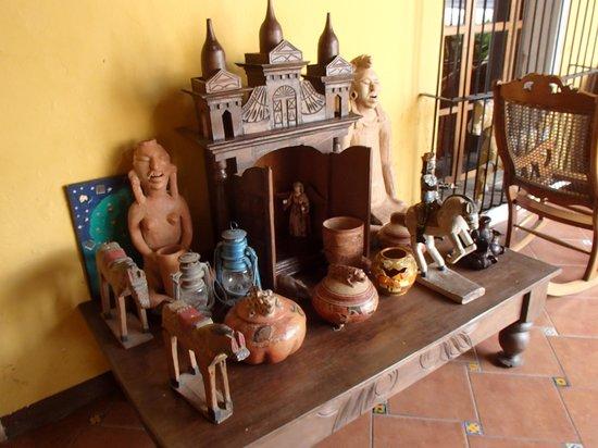 Hotel Casa de Las Fuentes: artesania