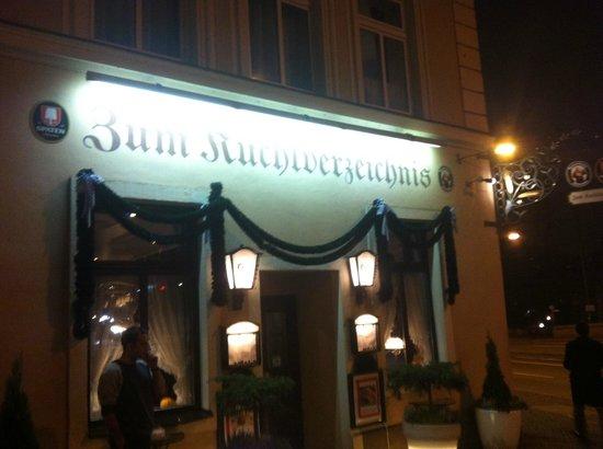 Kuchlverzeichnis : вид снаружи