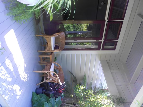 Redcliffe Homestead: Veranda of our room