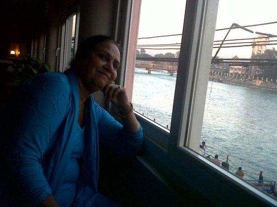 Ganga Lahari: Ganga View from the Hotel