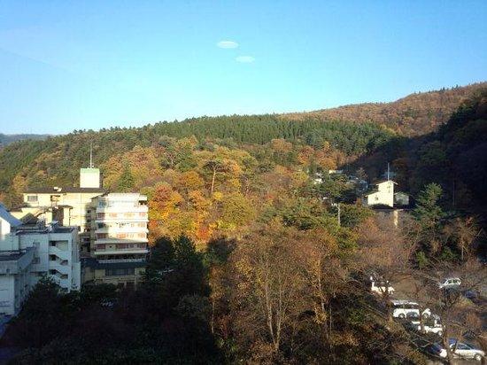 Naruko Hotel: 客室眺望