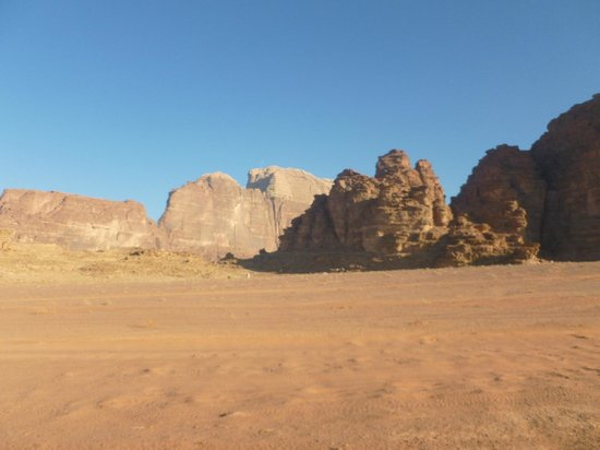 Bedouin Advisor Camp: Wadi Rum view