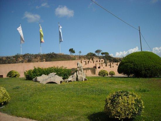 Villaggio Stazzo Pulcheddu : ingresso villaggio