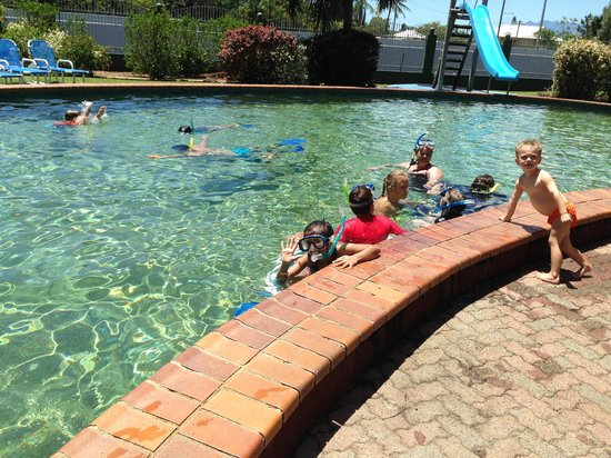 Ingenia Holidays Cairns Coconut: Snorkelling class at the pool