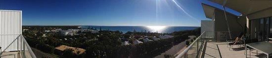 Rainbow Sea Resort: Incredible view from top floor unit