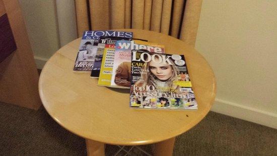 Holiday Inn London - Heathrow Ariel : Holiday Inn Ariel - Magazine selection
