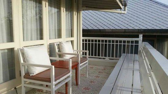 Baan Bayan: Balcony area