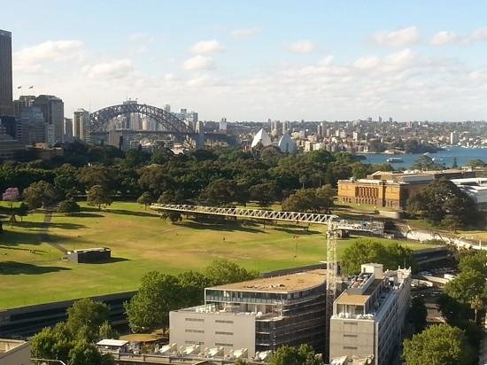 The Sydney Boulevard Hotel : View from our room.