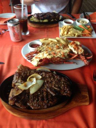 Kokobanana Bar & Grill: Steak and Lobster
