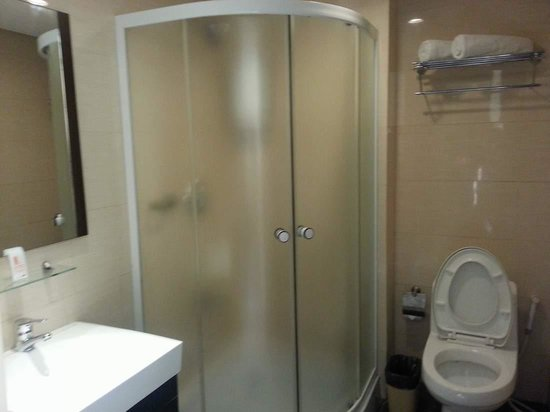 M Citi Suites Cebu : Toilets