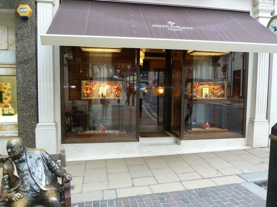 Bond Street: Patek Philippe is the core business of this jeweller