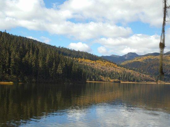 Shudu Lake: a view of the lake