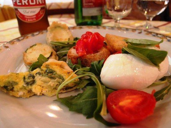 Dieci Pasta e Ceci: アンティパスティ盛り合わせ