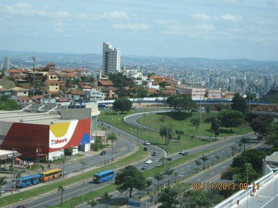 Caesar Business Belo Horizonte Belvedere: A cidade aos pés