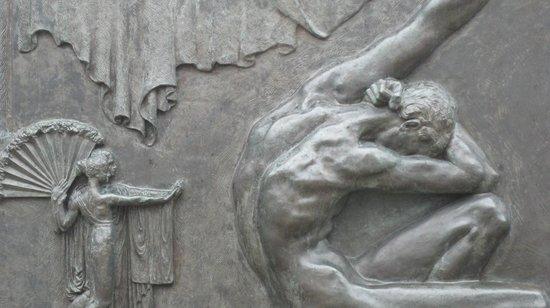 Einar-Jónsson-Museum (Listasafn Einars Jonssonar): detail of Einar Jonsson sculpture