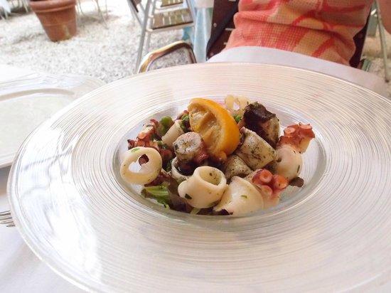 Canuleia : タコのサラダ