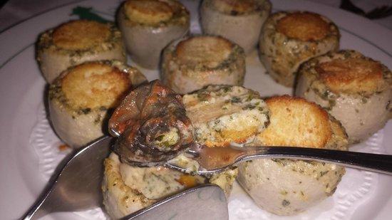L'Angelus: Garlic Butter Escargots