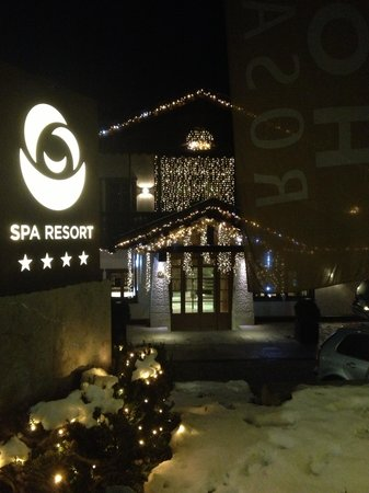Rosapetra Spa Resort: l'esterno