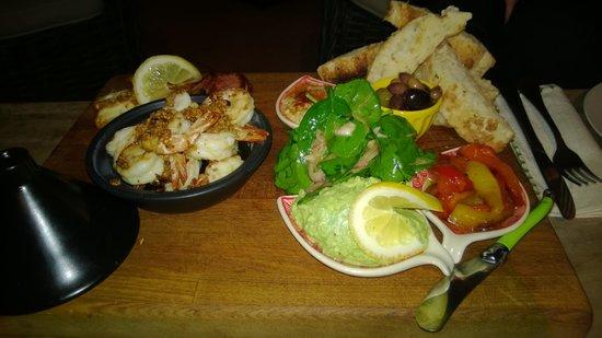 Noosa Valley Manor B&B Retreat : Abendessen