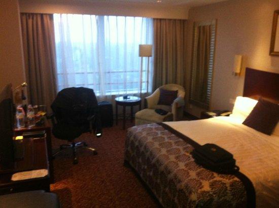 Radisson Blu Hotel Shanghai New World: my room