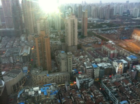 Radisson Blu Hotel Shanghai New World: view from the room
