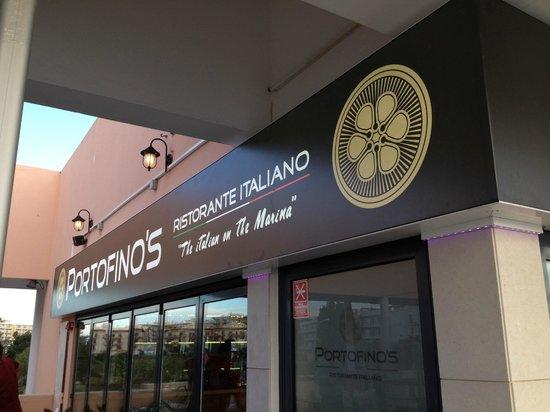 Portofino's Ristorante Italiano: Marina de Lagos, 1st Floor