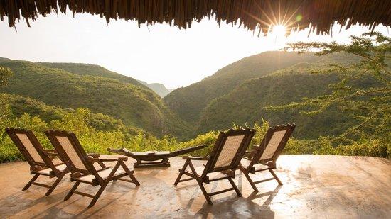 Mukutan Retreat : Looking down the Mukutan Gorge
