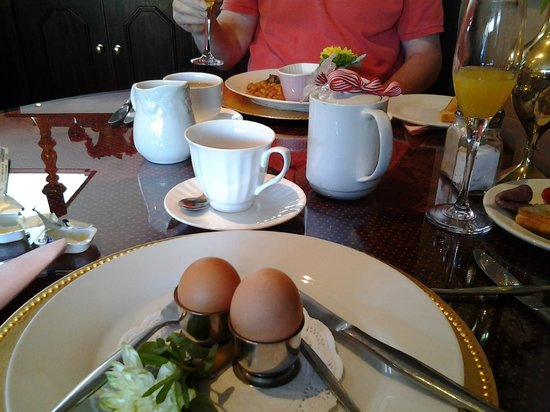 Hermanus Guesthouse: lovely breakfast