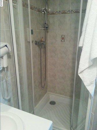 Hotel Du Parc : La douche