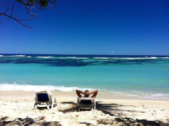 Hilton Seychelles Labriz Resort & Spa : la vue de notre villa !