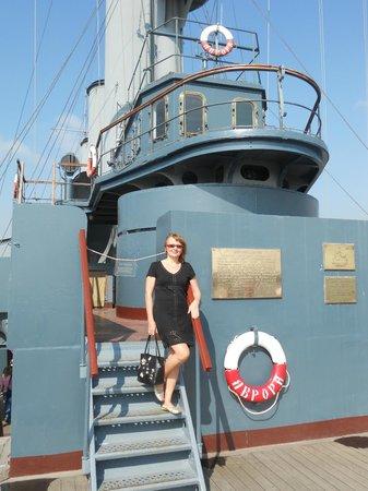 Cruiser Aurora: легенда