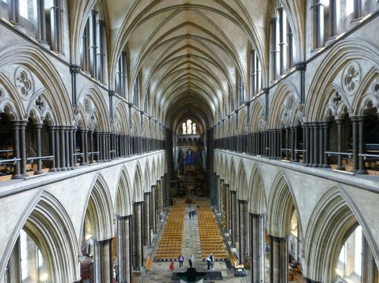 Salisbury Cathedral : View during climb