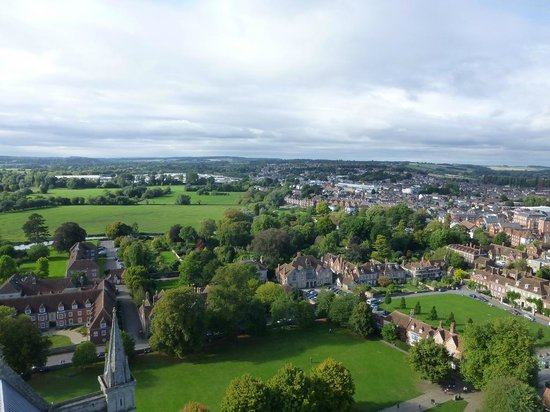 Salisbury Cathedral : View from top