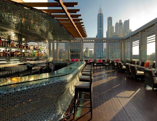 Radisson Blu Hotel, Dubai Media City : Tamanya Terrace