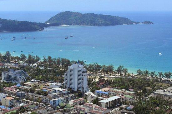 Andaman Beach Suites Hotel Bird Eye View