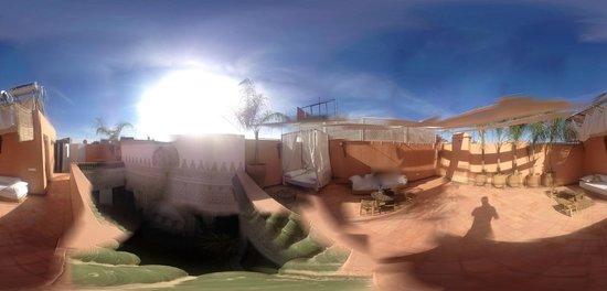 Riad Palau: Dachterrasse