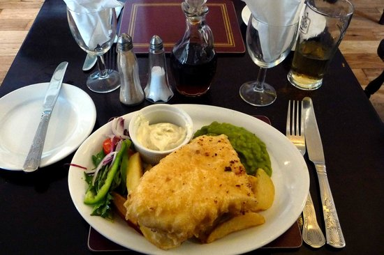 Waterford Arms: 'Small Fish & Chips'