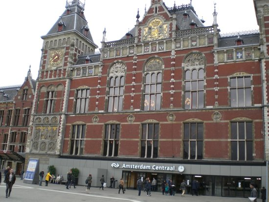 Amsterdam Marriott Hotel: central station